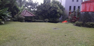 Halaman Villa Mba Siti Lembang