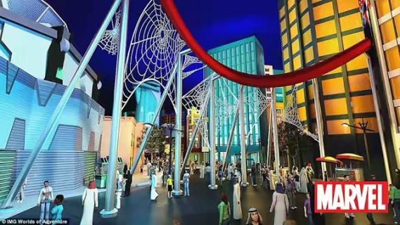 1 Photos: World's largest theme park with capacity of over 30,000 people at a time set to open in Dubai