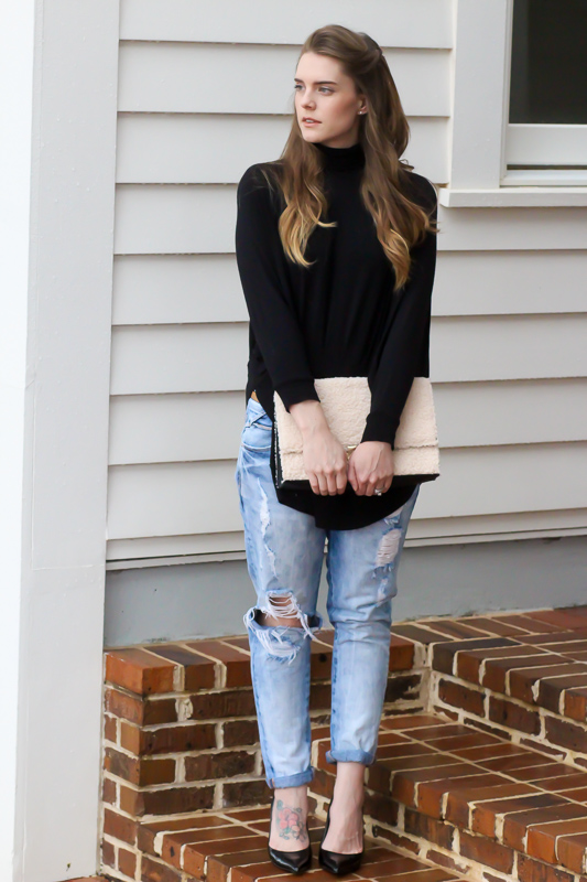 Black Turtlenecks Blogger Style