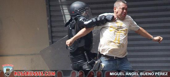 Disturbios en el centro entre vendedores y Policía | Rosarienses, Villa del Rosario