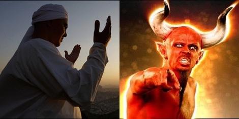 Kalahnya Seorang Ahli Ibadah Dalam Perkelahian Melawan Setan