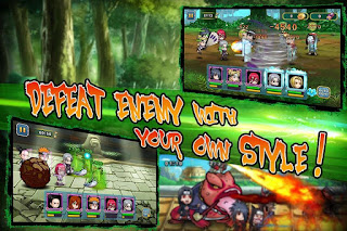 Download Shinobi War v 1.2.2