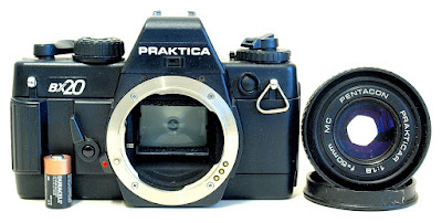 Praktica BX20, Pentacon MC 50mm