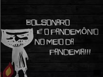 Print imagem vídeo Bolsonaro é o pandemônio