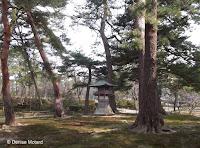 Japanese lantern - Kenroku-en Garden, Kanazawa, Japan