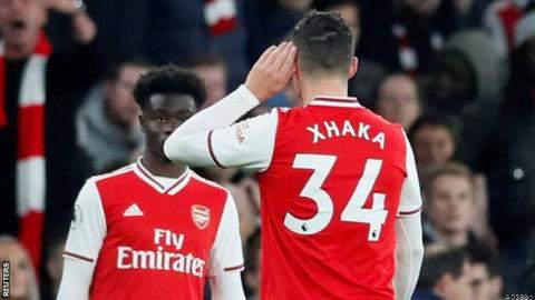 Arsenal to Offer Counselling to Xhaka After Fans' Argument