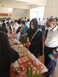 राष्ट्रीय विधिक सेवा दिवस के अवसर पर प्रदर्शनी एवं विक्रय स्टाल लगाया गया