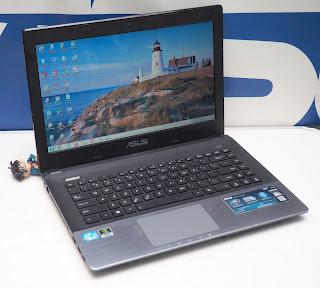 Laptop Gaming Asus A45V Bekas