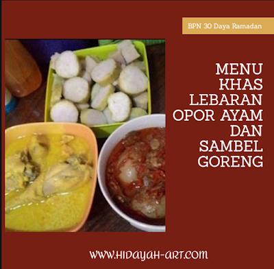 Menu Lebaran Khas Daerah Semarang