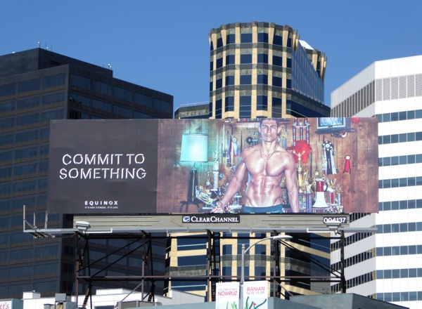 Commit to Something Equinox trophies billboard