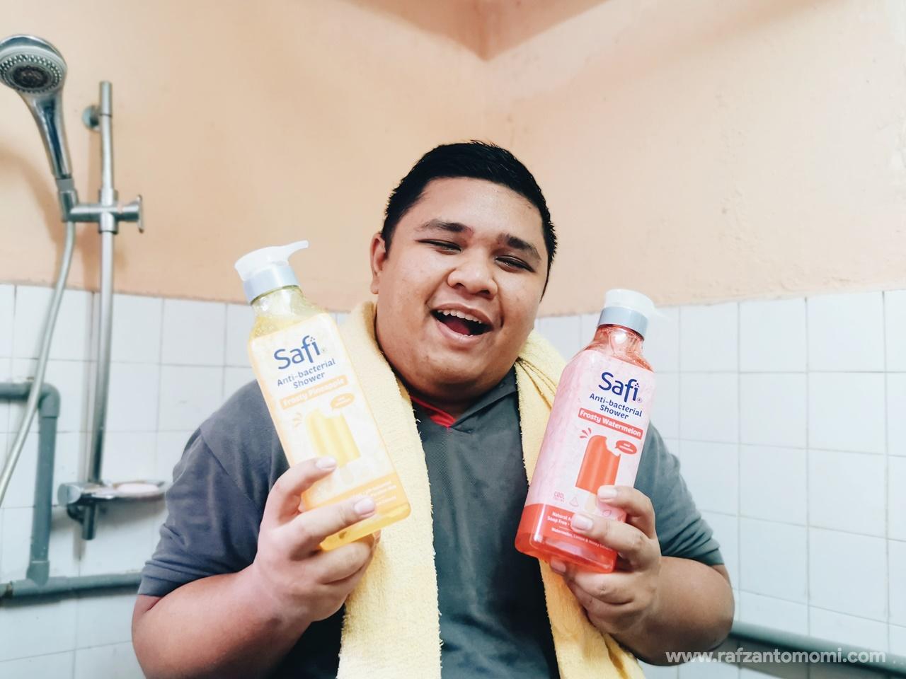 Kekal Segar Dengan Safi Anti-Bacterial Shower Cooling