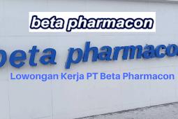 Lowongan Kerja PT Beta Pharmacon (Dexa Group) Terbaru 2021