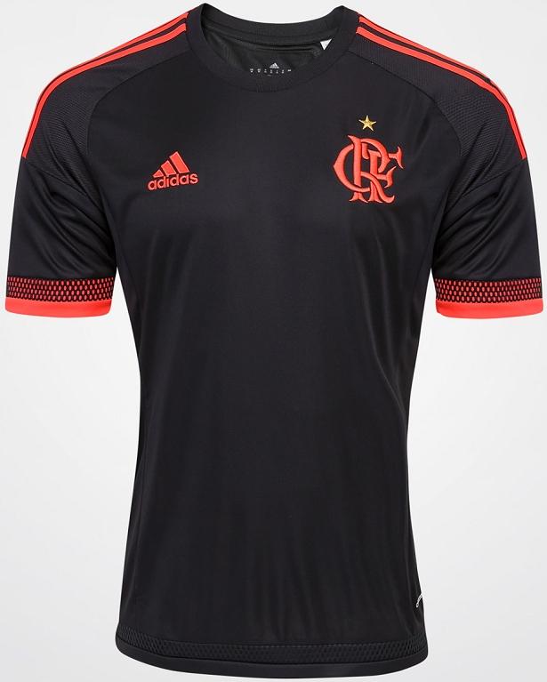 8d8b4c0478b25 Adidas lança nova terceira camisa do Flamengo. A fabricante de material  esportivo Adidas divulgou ...
