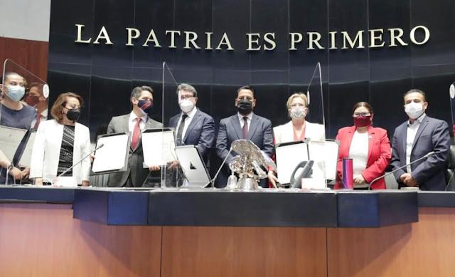 El Senado de la República ratifica nuevos embajadores de México en el exterior