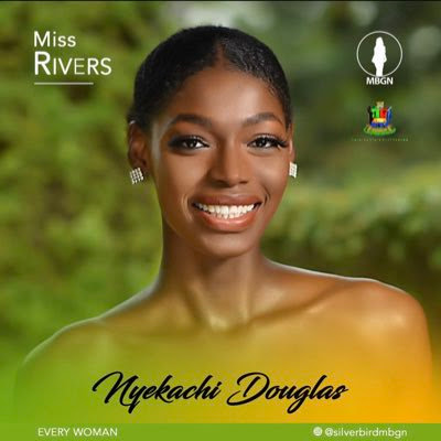 #MBGN2019; Miss Rivers, Nyekachi Douglas emerges most Beautiful Girl in Nigeria 2019
