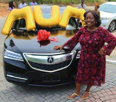 Linda Ikeji gift to mum - N19m brand new Acura SUV