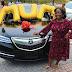 Linda Ikeji gives mum N19m brand new Acura SUV as gift