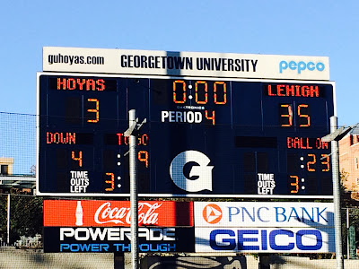 With Tremendous Confidence, Lehigh Pulls Away Big In Second Half To Beat Georgetown 35-3