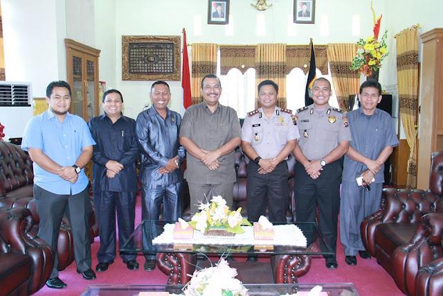Kapolres Pariaman Pererat Silaturahmi dengan DPRD