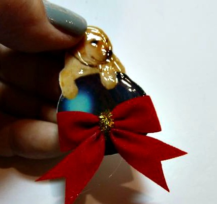 Make it easy crafts: How to make a sweet puppy card brooch