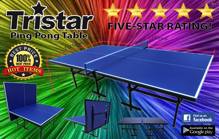 Tristar Ping pong Table tennis tables in Malaysia f183565e11ce