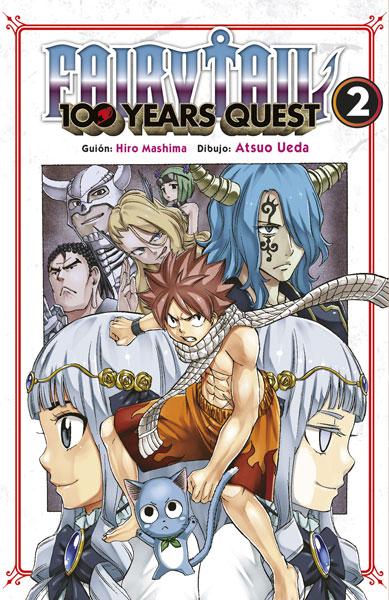 Reseña de Fairy Tail: 100 Years Quest vol.2, de Hiro Mashima y Atsuo Ueda.