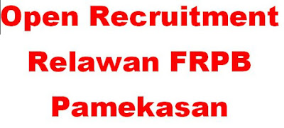 Open Recruitment Relawan Forum Relawan Penanggulangan Bencana Pamekasan