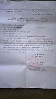 Share PSD Fake Giấy báo Trúng Tuyển Quân Đội - Đại Học Cảnh Sát