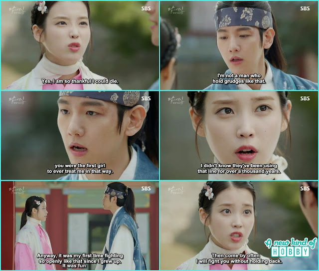 10 prince meet Hae so and told you are the first girl who treated her like that - Moon Lovers: Scarlet Heart Ryeo - Episode 3 Review