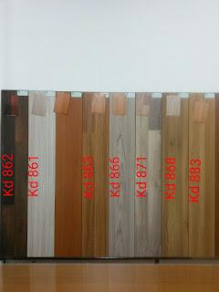 lantai kayu Vinyl Kode