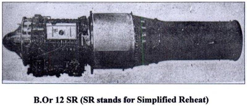 Bristol Siddeley Orpheus 12 Simply Reheated [BOR.12 SR] Turbojet Engine - 01 - TN