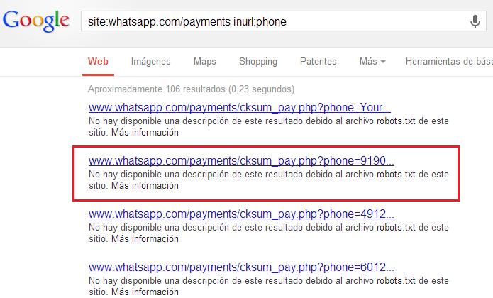 whatsapp payments - Robots.txt - ¿Qué es y cómo configurarlo? La guia definitiva 2019