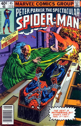 Spectacular Spider-Man #45, the Vulture