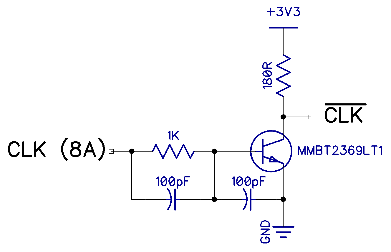 Tynemouth Software Designing The Divmmc Future Transistoramp Circuit Wiring My First Approach To This Was Replace Inverter With A Similar Later 48k Spectrums Simple Transistor