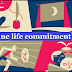How does online life commitment influence our emotional wellness?