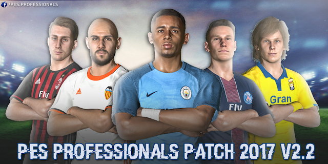 [PES 2017 PC] PES Professionals Patch 2017 V2.2 - Released 27/2/2017