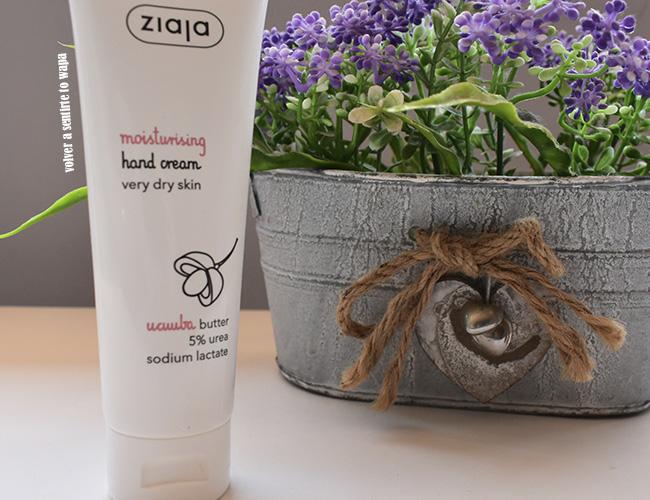 Crema de manos Hidratante de Ziaja