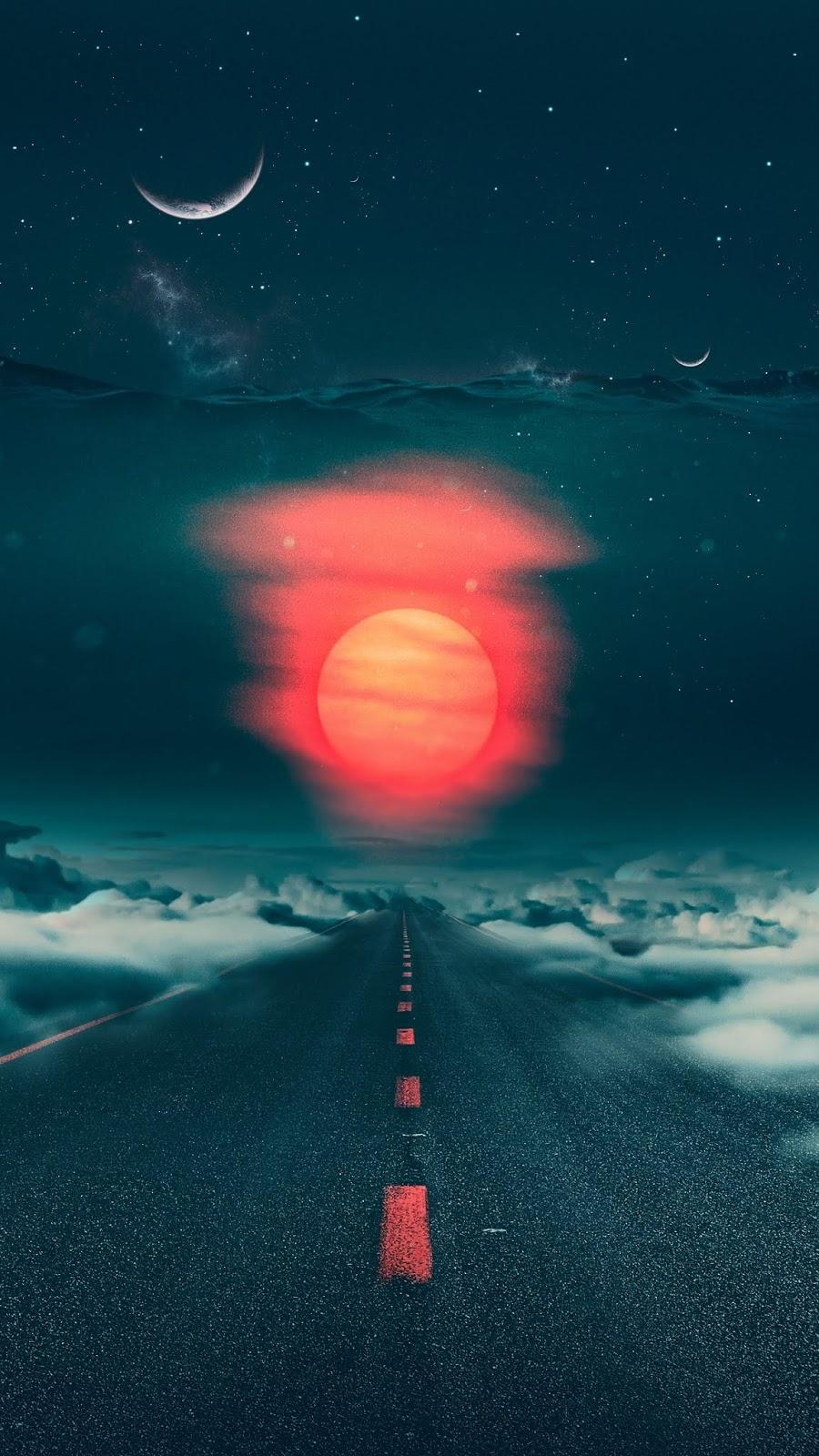 Cloudy destination
