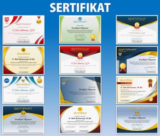 Sertifikat atau Piagam Penghargaan