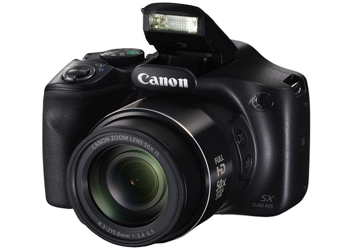 Canon PowerShot SX540 Digital Camera w/ 50x