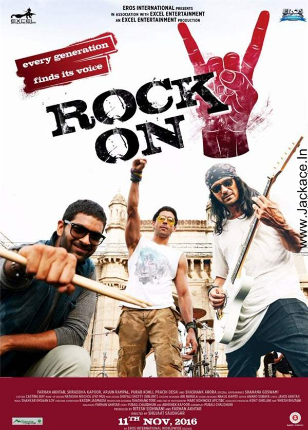 Rock On 2 Posters