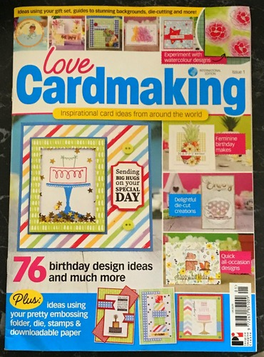 Love Cardmaking Intl Issue 1