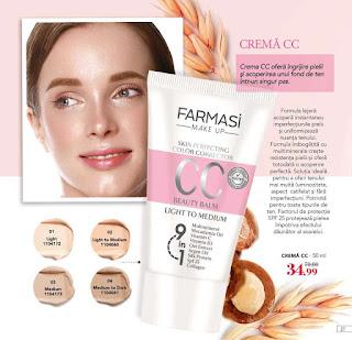 Catalog FARMASI Iulie - August 2019 promotie crema cc