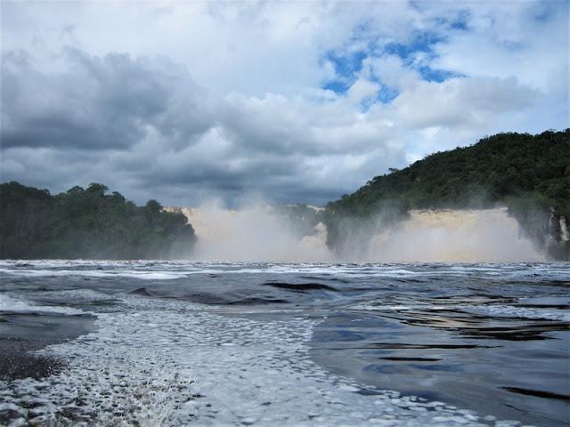 Canaima saltos de agua