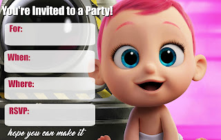 Free Storks Movie Party Printables