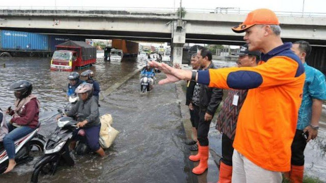 Cuaca Semakin Ekstrem, Ganjar Minta Semua Daerah di Jateng Siaga I
