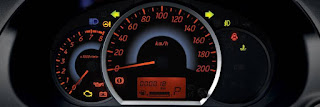 COMBINATION METER CLUSTER WITH MID MITSUBISHI MIRAGE 2014