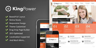 King Power - Retina Ready Multi-Purpose Theme - Business WordPress