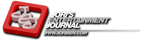 Jori's Entertainment Journal