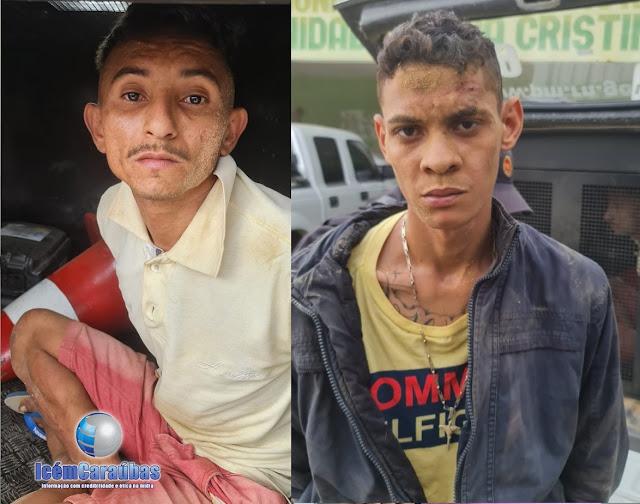 Assaltantes são presos após realizarem arrastão em residência na zona rural de Campo Grande; um dos presos é de Caraúbas